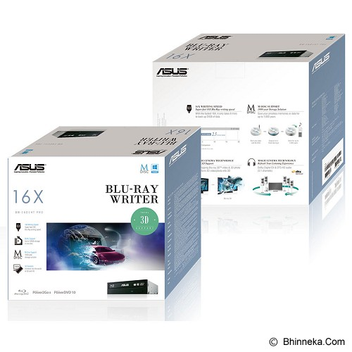 ASUS Blu Ray Disc Drive [BW-16D1HT PRO] - Optical Drive / ODD Internal Blu-ray